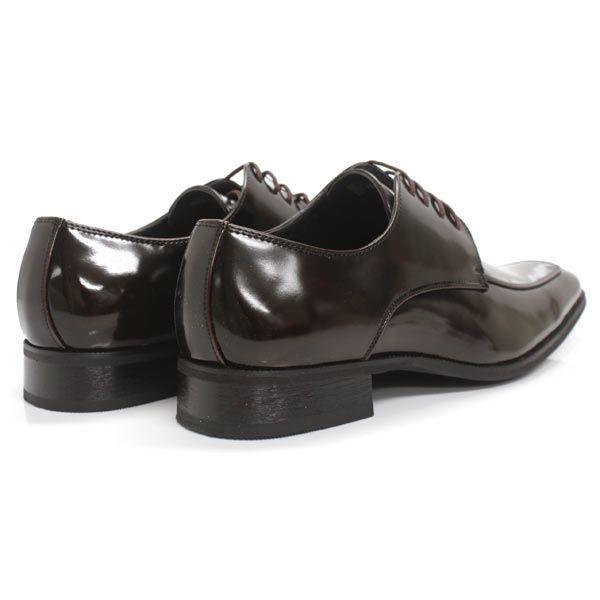 ビジネスシューズ 外羽根 ロングノーズ DARK BROWN ラスアンドフリス メンズ 革靴 紳士 靴 2足6000円セット対象商品 mens-sanei 02