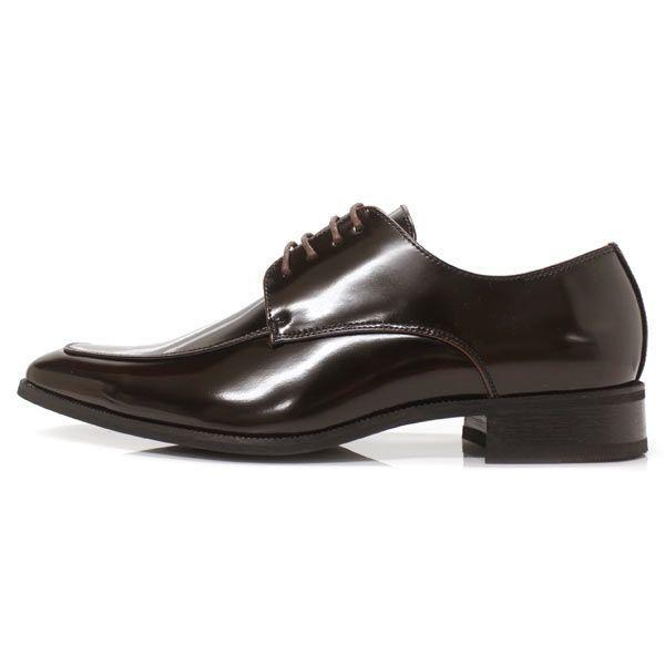 ビジネスシューズ 外羽根 ロングノーズ DARK BROWN ラスアンドフリス メンズ 革靴 紳士 靴 2足6000円セット対象商品 mens-sanei 03