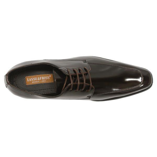 ビジネスシューズ 外羽根 ロングノーズ DARK BROWN ラスアンドフリス メンズ 革靴 紳士 靴 2足6000円セット対象商品 mens-sanei 04
