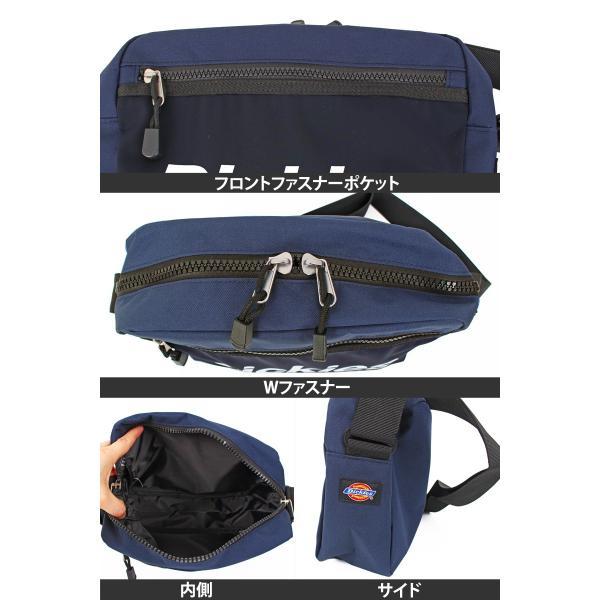 Dickies ディッキーズ ボディバッグ メンズ ウエストバッグ ボディーバッグ ミニショルダーバッグ 斜めがけ ブランド かばん カバン 鞄 ゆうパケ送料300円|menscasual|11