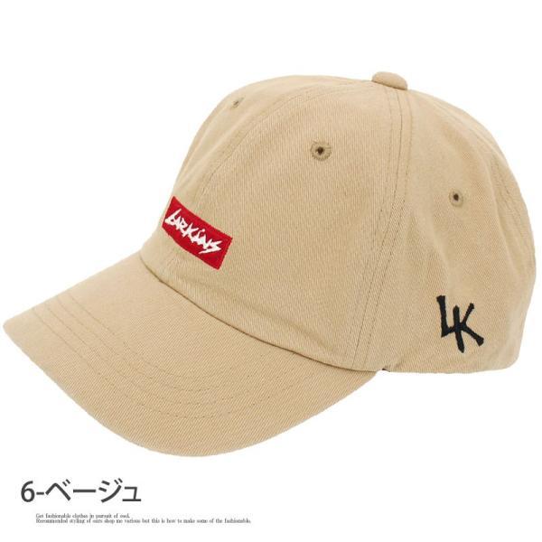 キャップ メンズ 帽子 ベースボールキャップ ローキャップ LARKINS ラーキンス 無地 コットン 綿 刺繍 ロゴ 文字 ゴルフ 野球帽 ブランド 男女兼用 ユニセックス|menscasual|13