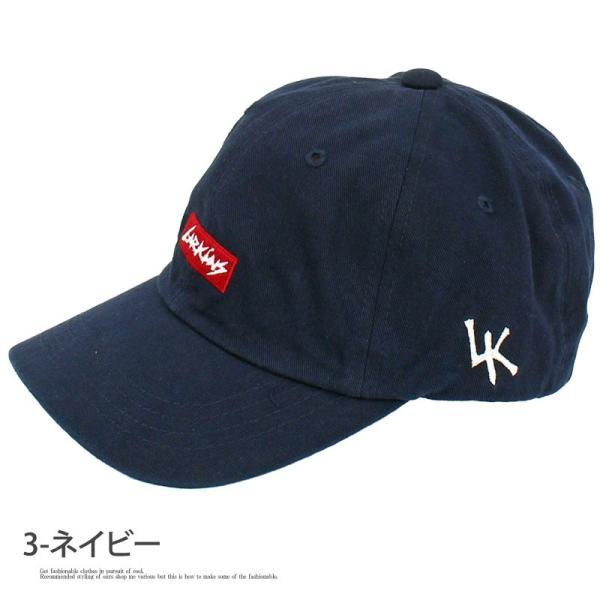 キャップ メンズ 帽子 ベースボールキャップ ローキャップ LARKINS ラーキンス 無地 コットン 綿 刺繍 ロゴ 文字 ゴルフ 野球帽 ブランド 男女兼用 ユニセックス|menscasual|10