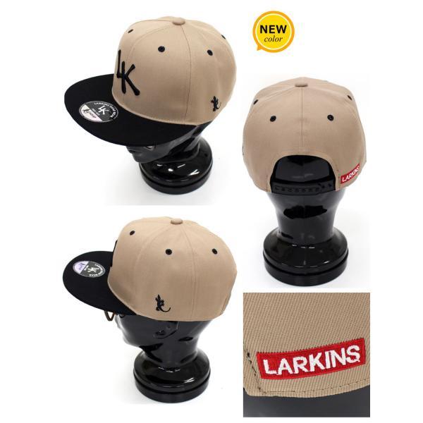 キャップ メンズ 帽子 ベースボールキャップ ローキャップ ラーキンス LARKINS 無地 コットン 綿 刺繍 ロゴ 文字 ゴルフ 野球帽 ブランド 男女兼用 ユニセックス|menscasual|07