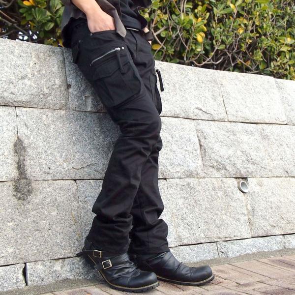ブーツ メンズ メンズブーツ エンジニアブーツ ショートブーツ ワークブーツ ファスナー バックジップ 靴 シューズ 秋冬|menscasual|06