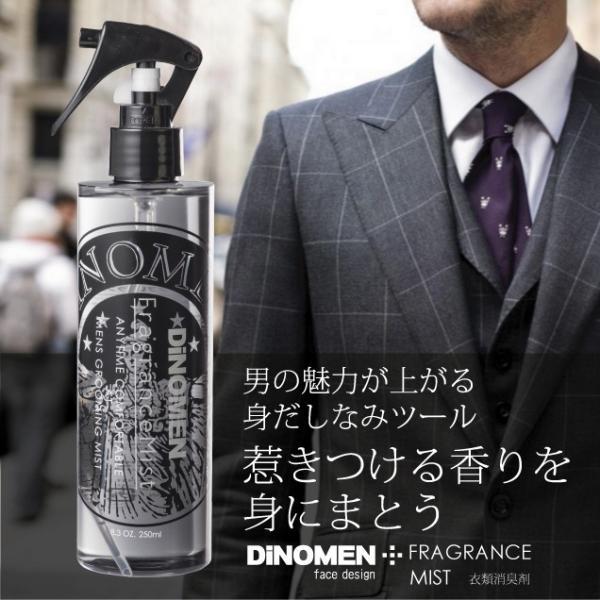 フレグランスミスト 衣類消臭剤 DiNOMEN 250ml 体臭対策 加齢臭対策 男性化粧品  においケア ディノメン  ギフト  夏休み|menscosme|02