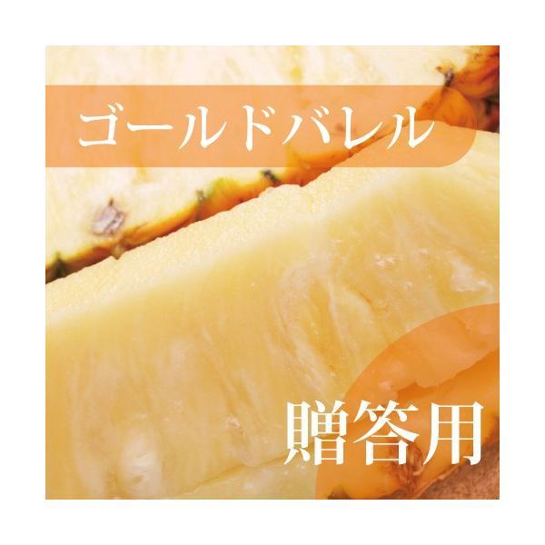 ゴールドバレル 2玉(1玉約1.5〜2kg×2)至高のパイン【発送6月〜7月中旬】 【送料無料・贈答用】 【パイナップル】