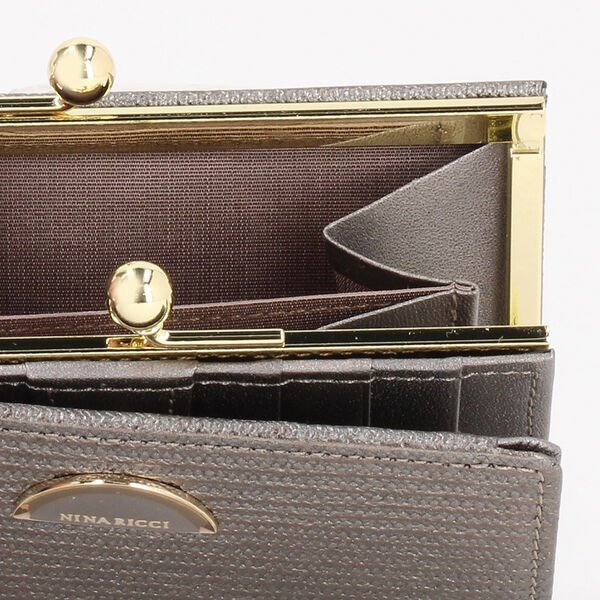 ニナリッチ 財布 レディース 折財布 がま口 折りたたみ ブランド ルーンパース|menstyle|12
