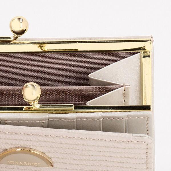 ニナリッチ 財布 レディース 折財布 がま口 折りたたみ ブランド ルーンパース|menstyle|10