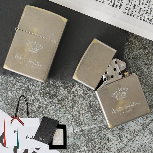 ポールスミス コレクション ジッポ zippo 刻印 喫煙具 Paul Smith Collection メンズ 正規品 新品 クラウン 554827 北海道・沖縄は配送不可