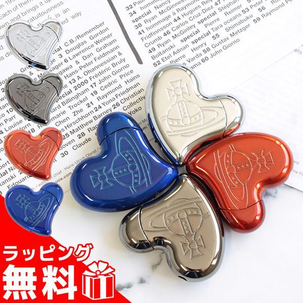 ヴィヴィアンウエストウッド ライター 電子ガスライター レディース メンズ ハートシェイプ 111834