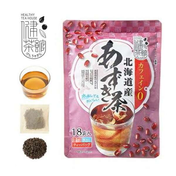 北海道産あずき茶 18P 梶商店 マイボトル ティーバッグ ティーパック あずき茶 国産 6g×18包 小豆茶 (あずき茶 ティーバッグ  )