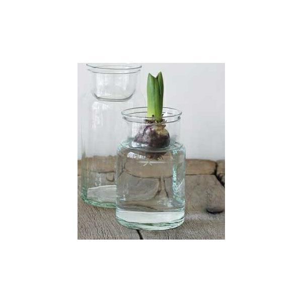リューズガラス バルブ ボトル S Horn Please 志成販売 フラワーポット 花 鉢 観葉植物 ガーデン雑貨 ナチュラルガーデン 371739