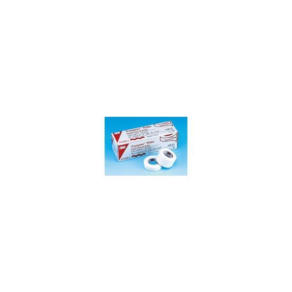 3M トランスポア ホワイトサージカルテープ スモールパック 1534SP-0 12.5mmx9.1m 12巻/箱 スリーエム【医療用】【サージカルテープ】【返品不可】