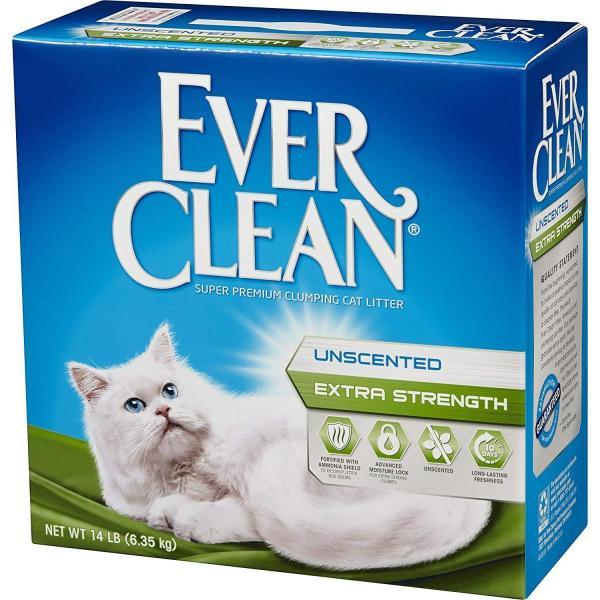 【猫自動トイレにぴったり】 猫砂 固まる エバークリーン 小粒・微香タイプ ベントナイト 鉱物 ネコ砂 ねこすな 固まる猫砂 消臭 抗菌 6.35kg
