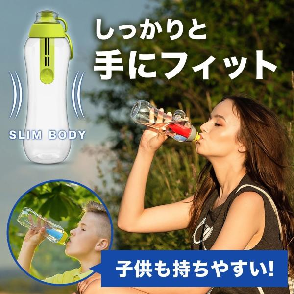 DAFI ダフィ 浄水ボトル 500ml 携帯用 浄水器 ボトル 水筒 浄水ポット 浄水 ろ過 活性炭 カートリッジ付き ポーランド製 キャンプ アウトドア 【日本正規品】|merland|13