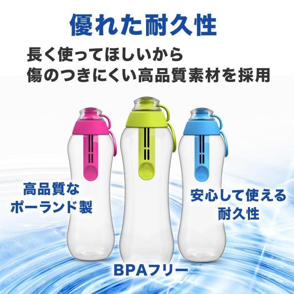 DAFI ダフィ 浄水ボトル 500ml 携帯用 浄水器 ボトル 水筒 浄水ポット 浄水 ろ過 活性炭 カートリッジ付き ポーランド製 キャンプ アウトドア 【日本正規品】|merland|16