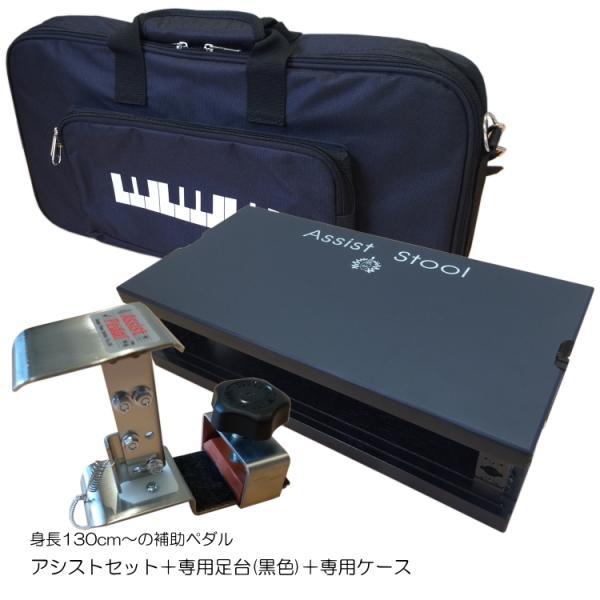 アシスト4点セット「アシストペダル/ハイツール(HS-Vセット)/アシストスツール黒(ASS-V-BK)/専用バッグ」