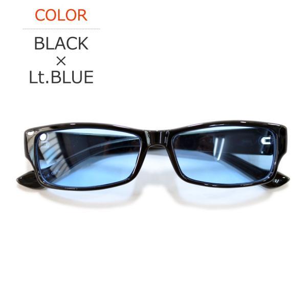 【全4色】 伊達メガネ サングラス スクエア スクウェア 四角 薄い色 カラーレンズ  メンズ レディース 安い 紫外線カット merry 05