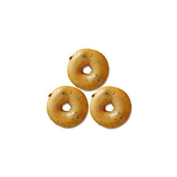 ベーグル・アンド・ベーグル[BAGEL&BAGEL]豆乳枝豆ベーグル×3個[冷凍のみ]【3〜4営業日以内に出荷】