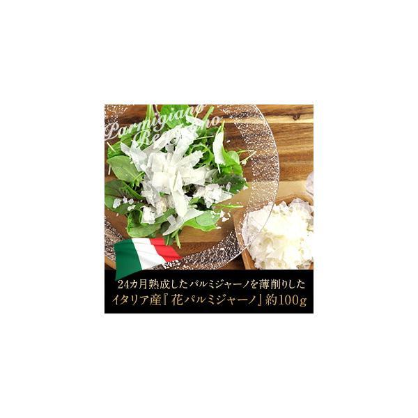 イタリア産 花パルミジャーノ×100gクール [冷蔵] 便でお届け30個まで1配送でお届け [賞味期限:お届け後20日以上]  【4〜5営業日以内に出荷】 ポイント消化