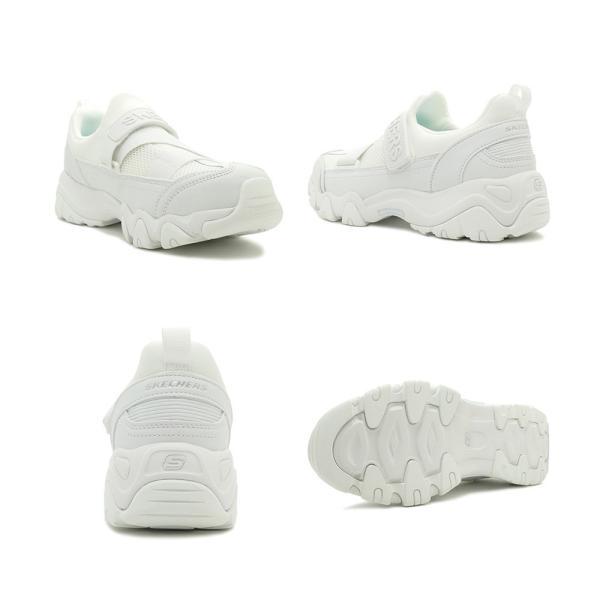 スニーカー スケッチャーズ SKECHERS ウィメンズディーライト2 ホワイト レディース シューズ 靴 18FW|mexico|03