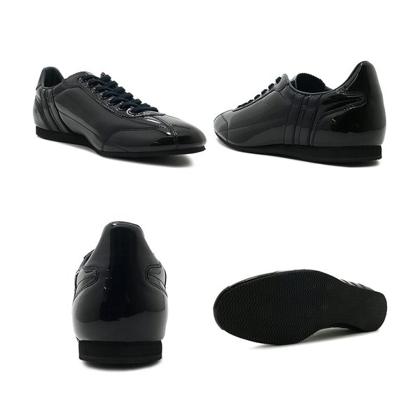 スニーカー パトリック PATRICK ダチアエナメル ブラック メンズ レディース シューズ 靴 19SS|mexico|03