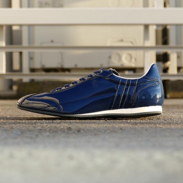 スニーカー パトリック PATRICK ダチアエナメル ダークブルー メンズ レディース シューズ 靴 19SS|mexico|04