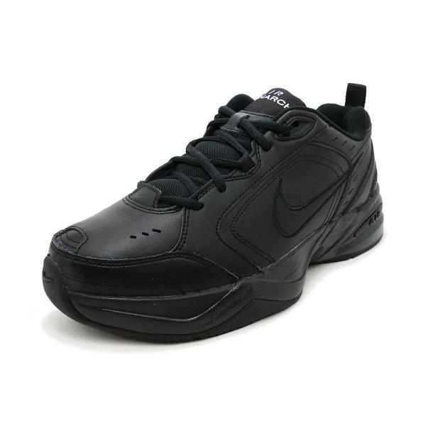 スニーカー ナイキ NIKE エアモナーク4 ブラック メンズ レディース シューズ 靴 18HO|mexico