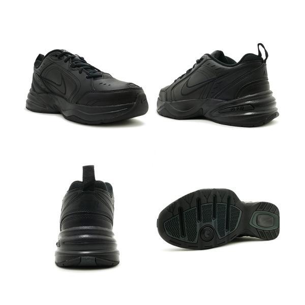 スニーカー ナイキ NIKE エアモナーク4 ブラック メンズ レディース シューズ 靴 18HO|mexico|03