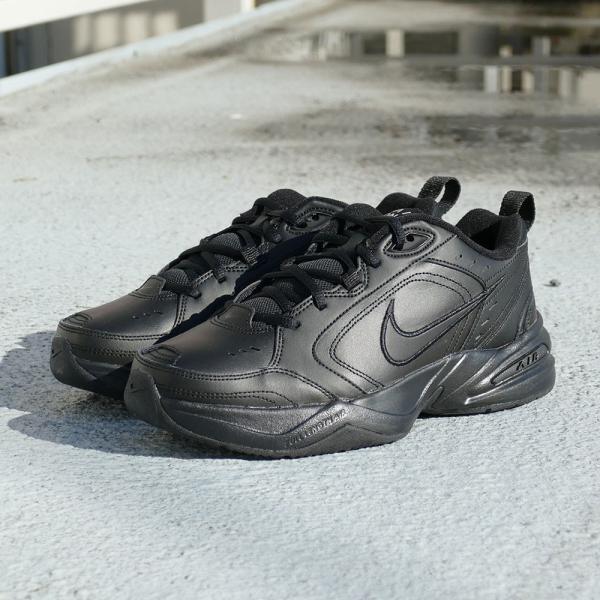スニーカー ナイキ NIKE エアモナーク4 ブラック メンズ レディース シューズ 靴 18HO|mexico|04