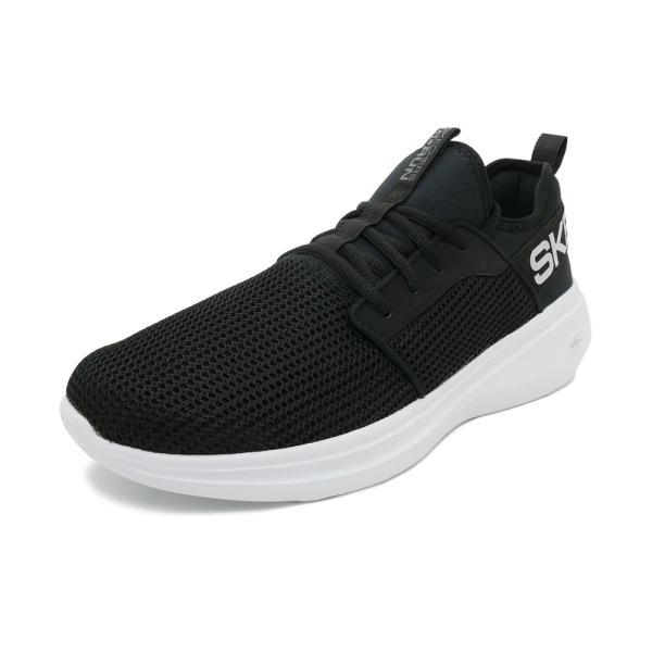 スニーカー スケッチャーズ SKECHERS ゴーランファスト ブラック/ホワイト メンズ シューズ 靴 19SP|mexico