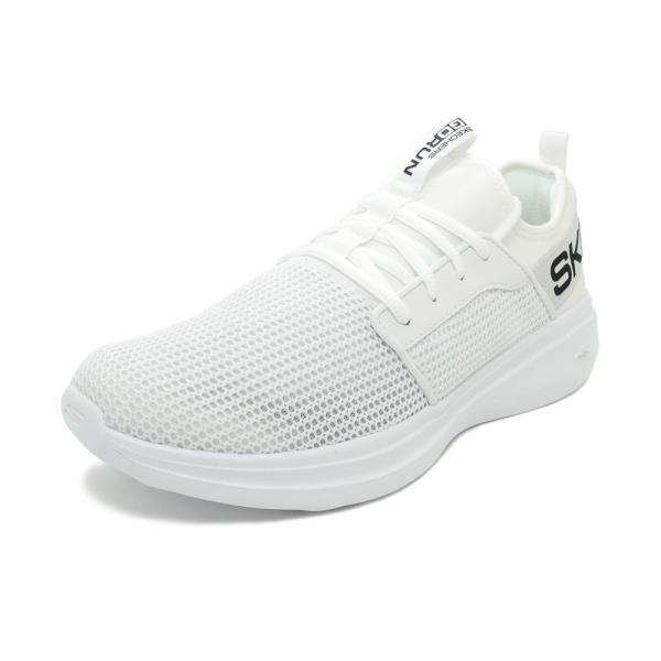 スニーカー スケッチャーズ SKECHERS ゴーランファスト ホワイト メンズ シューズ 靴 19SP|mexico