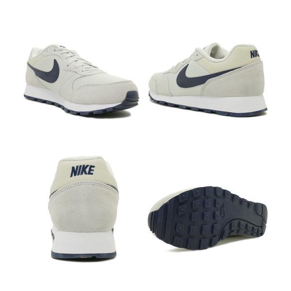 スニーカー ナイキ NIKE MDランナー2 ライトボーン/オブシディアン メンズ レディース シューズ 靴 19SP|mexico|03