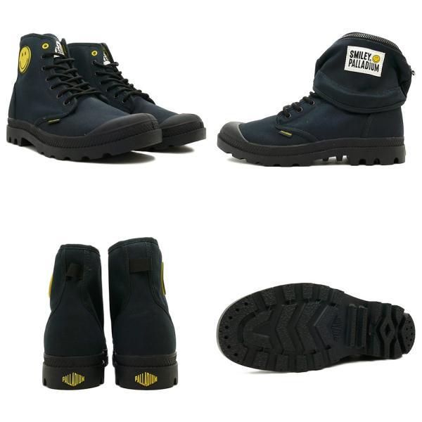 スニーカー パラディウム PALLADIUM パンパスマイリーフェストバッグ ブラック メンズ レディース シューズ 靴 18AW mexico 03