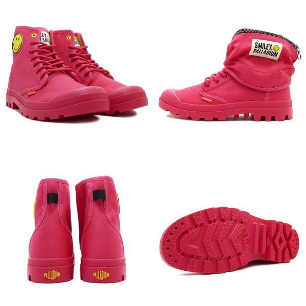 スニーカー パラディウム PALLADIUM パンパスマイリーフェストバッグ ピンク メンズ レディース シューズ 靴 18AW|mexico|03