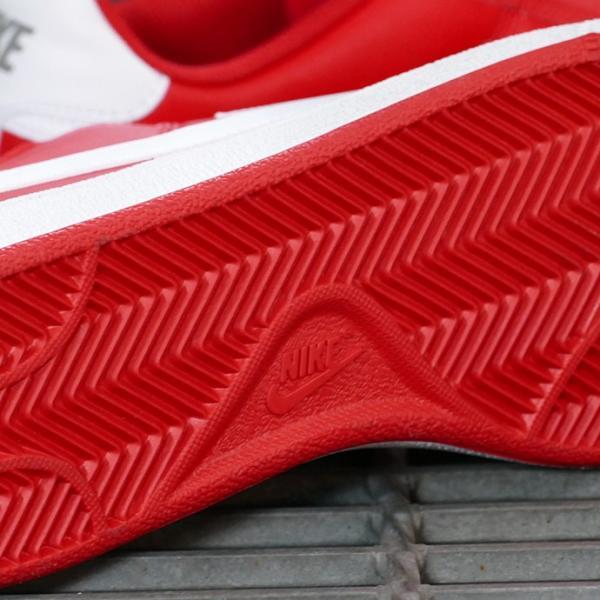 NIKE COURT ROYALE SL 【ナイキ コートロイヤルSL】 university red/white/metallic pewter (ユニバーシティレッド/ホワイト/メタリックピューター)|mexico|06