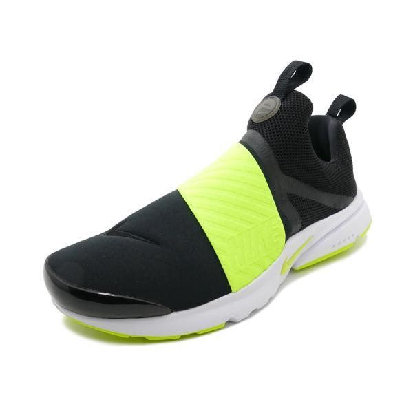 スニーカー ナイキ NIKE プレストエクストリームGS ブラック/ボルト レディース シューズ 靴 18HO mexico