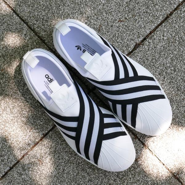 adidas Originals SUPERSTAR SLIPON W【アディダス オリジナルス スーパースタースリッポンW】running white/core black(ランニングホワイト/コアブラック)|mexico|05