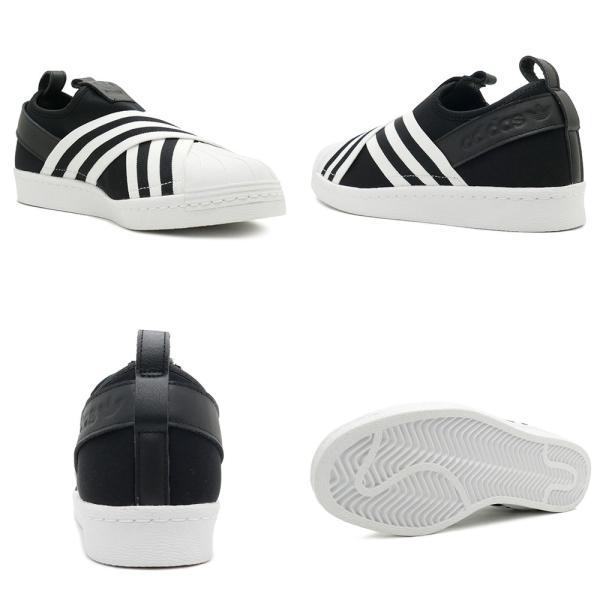 adidas Originals SUPERSTAR SLIPON W アディダス オリジナルス スーパースタースリッポンW コアブラック/コアブラック/ランニングホワイト mexico 03