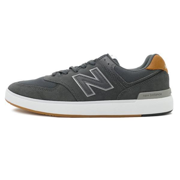 NEW BALANCE AM574 BRN ニューバランス AM574BRN gray グレー NB AM574-BRN 18FW|mexico|02