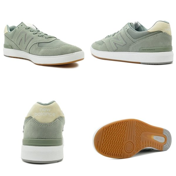 NEW BALANCE AM574 MTI ニューバランス AM574MTI dusty green ダスティ グリーン NB AM574-MTI 18FW|mexico|03