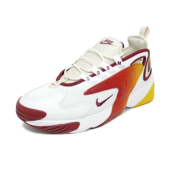 スニーカー ナイキ NIKE ズーム2K ホワイト/チームレッド メンズ レディース シューズ 靴 19SU|mexico
