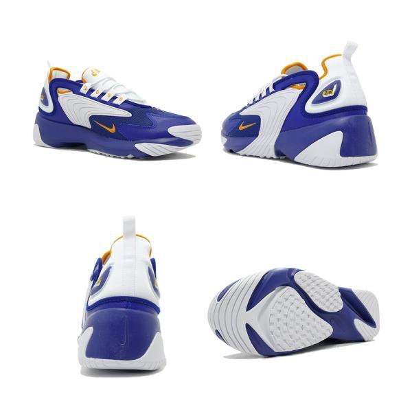 スニーカー ナイキ NIKE ズーム2K ディープロイヤルブルー/オレンジピール メンズ レディース シューズ 靴 19SP|mexico|03
