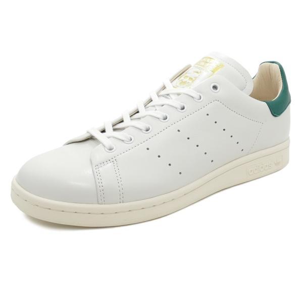 スニーカー アディダス adidas スタンスミスリーコン ホワイト/グリーン メンズ レディース シューズ 靴 18FW mexico