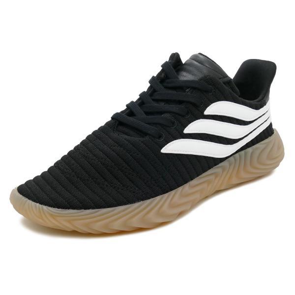 スニーカー アディダス adidas ソバコフ ブラック/ホワイト メンズ レディース シューズ 靴 18FW|mexico