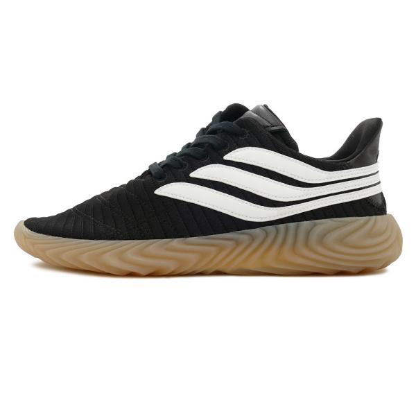 スニーカー アディダス adidas ソバコフ ブラック/ホワイト メンズ レディース シューズ 靴 18FW|mexico|02