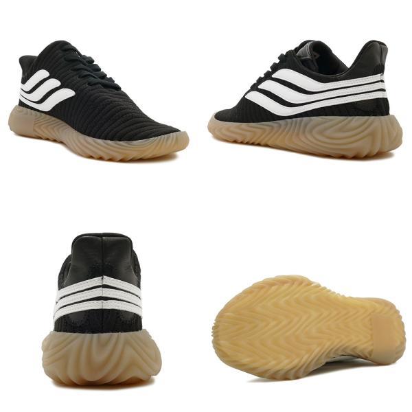 スニーカー アディダス adidas ソバコフ ブラック/ホワイト メンズ レディース シューズ 靴 18FW|mexico|03