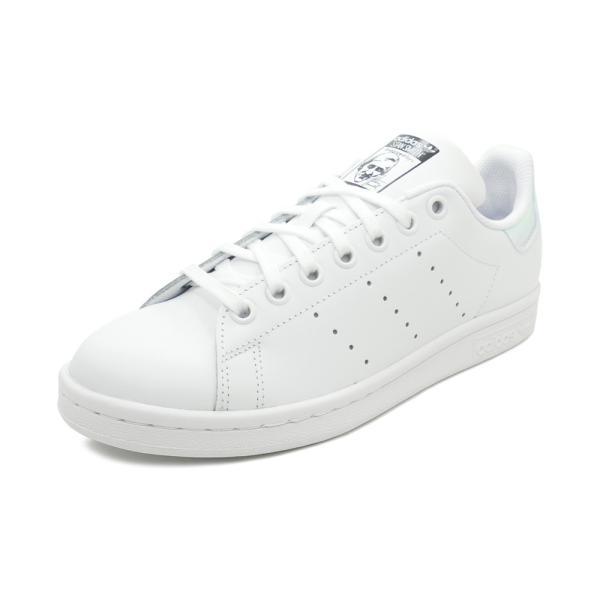 スニーカー アディダス adidas スタンスミスJ ランニングホワイト/シルバーメタリック レディース シューズ 靴 19SS|mexico