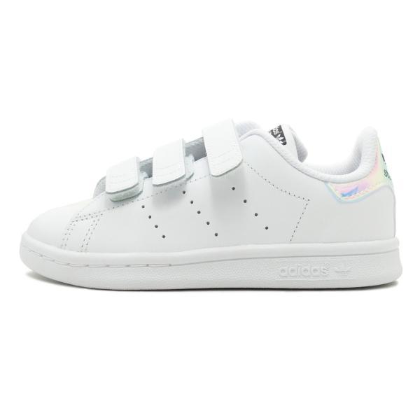 adidas Originals STAN SMITH CF C【アディダス オリジナルス スタンスミスコンフォートC】metallic silver-sld/ftwr white(シルバーメタリック/ホワイト)|mexico|02