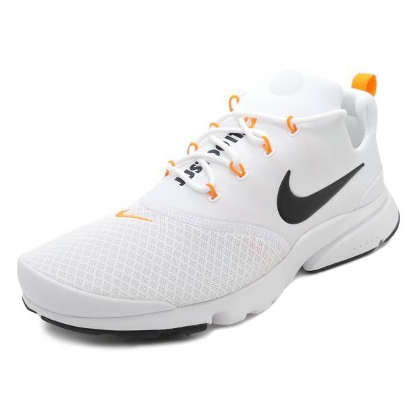スニーカー ナイキ NIKE プレストフライJDI ホワイト/ブラック/オレンジ メンズ レディース シューズ 靴 18FA|mexico